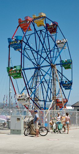 Ferris Wheel at Balboa Fun Zone